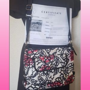 Coach Floral Purse Handbag COA